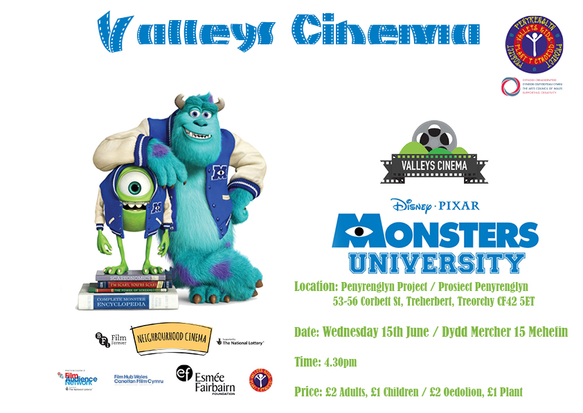 Monsters Inc new date