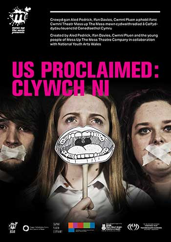 Mess Up the Mess presents 'Us Proclaimed: Clywch Ni' @ Soar Centre | Wales | United Kingdom