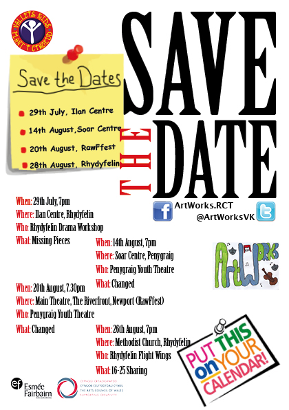 save the dates summer 2016